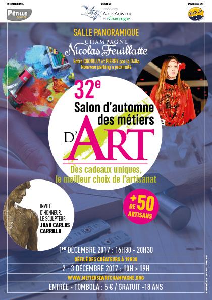 salon d'automne des métiers d'art 2017